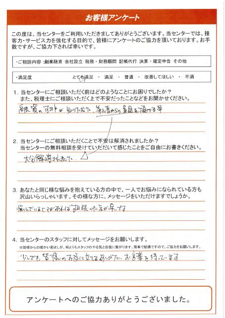 【一宮市:40代男性/創業融資】2019年10月7日
